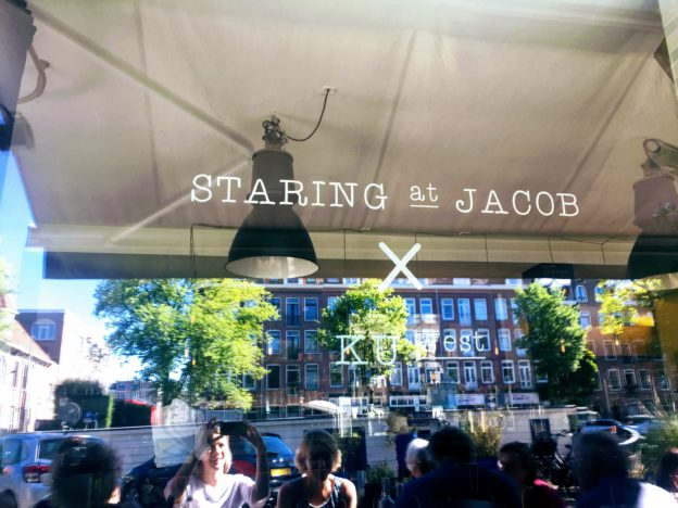 Staring at Jacob X KU West Amsterdam