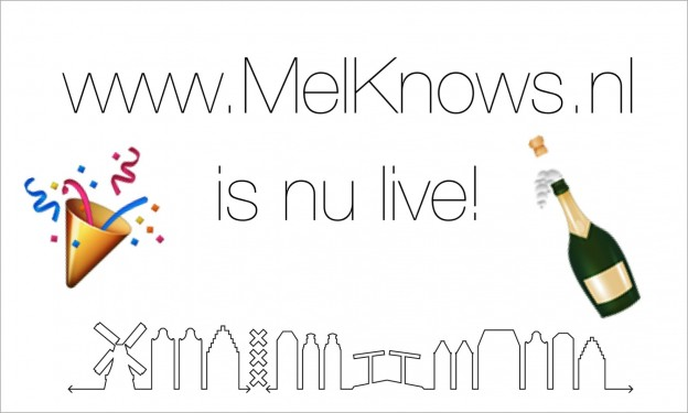 Website www.MelKnows.nl is nu live