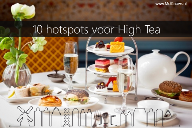 10 hotspots voor High Tea