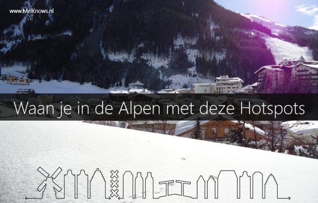 Waan je in de Alpen met deze hotspots