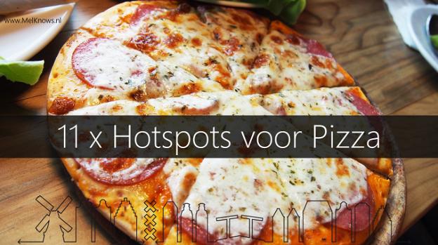 11x hotspots voor Pizza