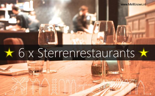 6x sterrenrestaurants