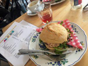 MiniMarkt Amsterdam lunch