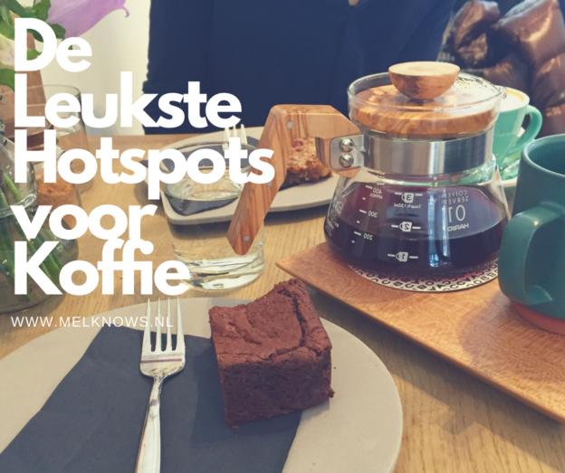 De leukste hotspots voor koffie