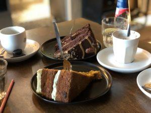 De Drie Graefjes taart